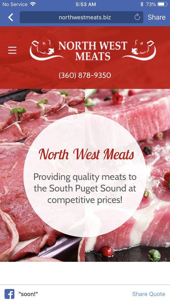 North West Meats: 9408 Martin Way E, Olympia, WA