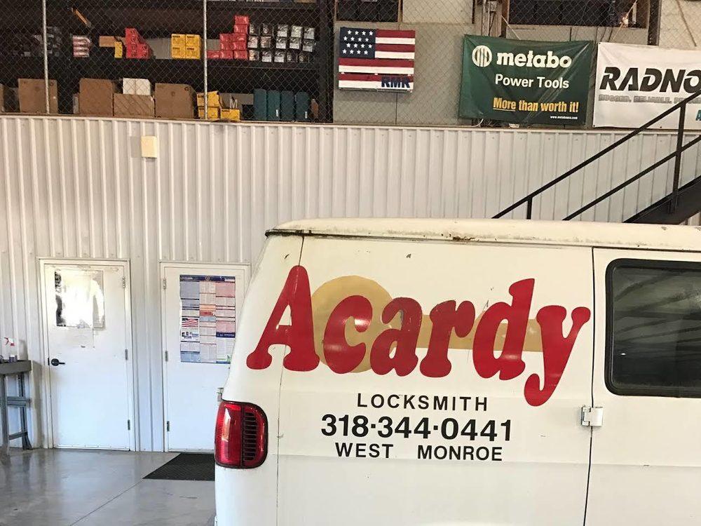 Acardy Locksmith: West Monroe, LA
