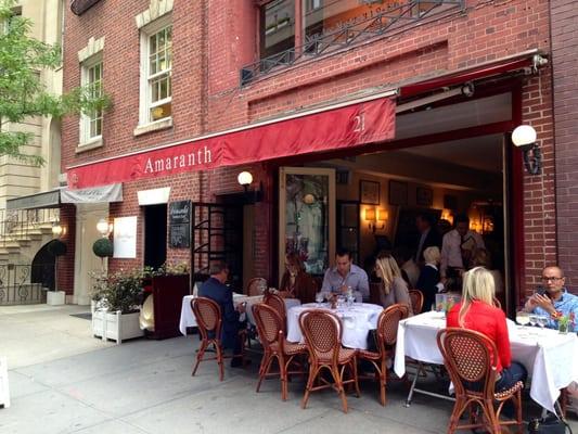 Amaranth Restaurant Nyc Reviews