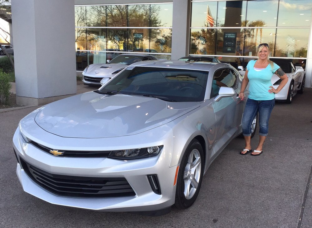 Sands Chevrolet Surprise Az >> My New 2017 Chevy Camaro Thank You Jason For A Wonderful Experience