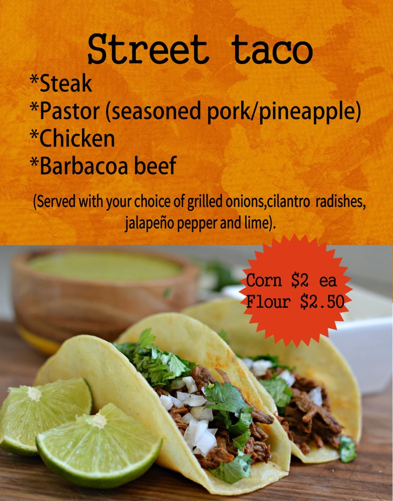 La Potosina The Mexican Taco: 1016 4th St, Graham, TX