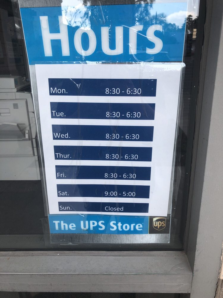 The UPS Store: 310 N Indian Hill Blvd, Claremont, CA