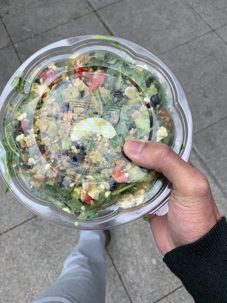 Evergreens Salad: 1430 2nd Ave, Seattle, WA