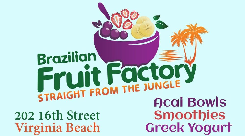 Brazilian Fruit Factory: 202 16th St, Virginia Beach, VA