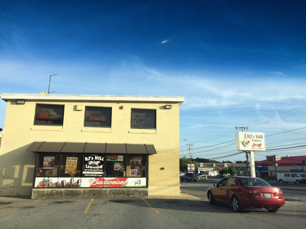 Hill Liquors: 820 Cumberland Hill Rd, Woonsocket, RI