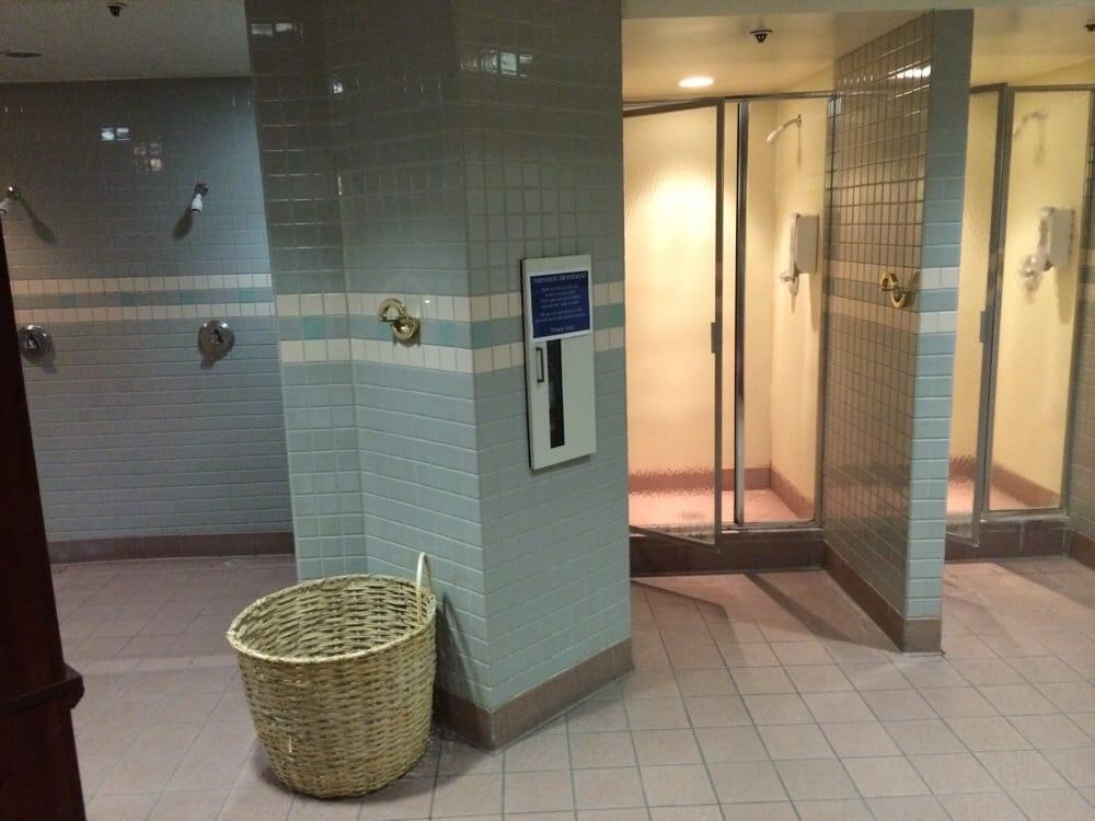Men S Locker Room Showers Yelp