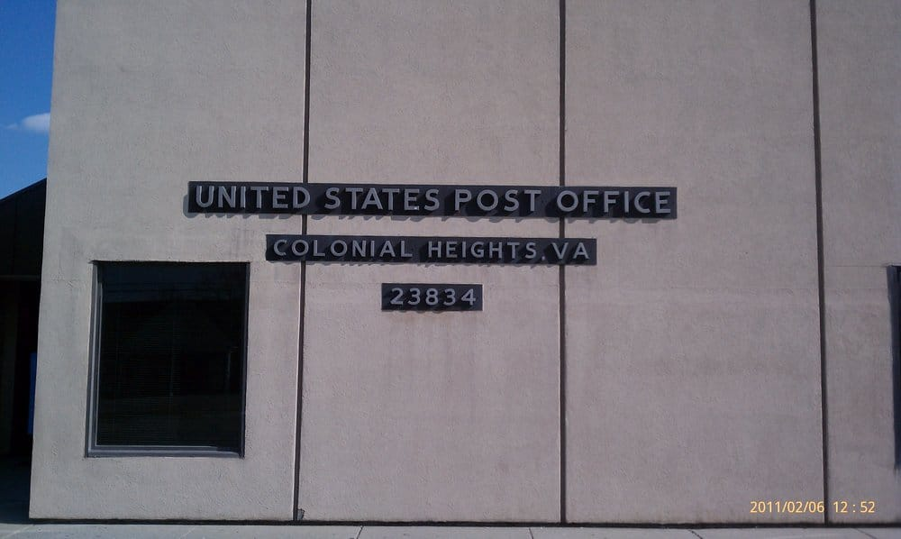 United States Postal Service: 1205 Blvd, Colonial Heights, VA