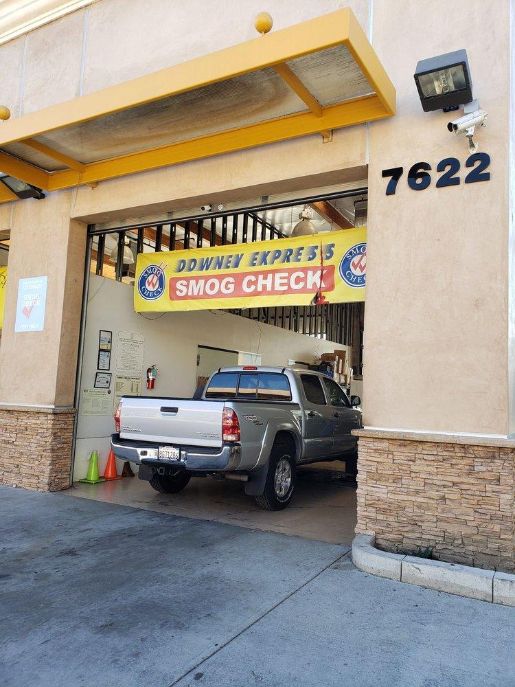 Downey Express Smog Check: 7622 Firestone Blvd, Downey, CA