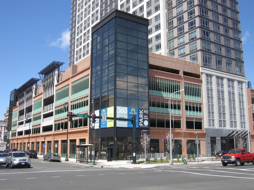 360 State Street Leed Platinum Hybrid Parking Garage New