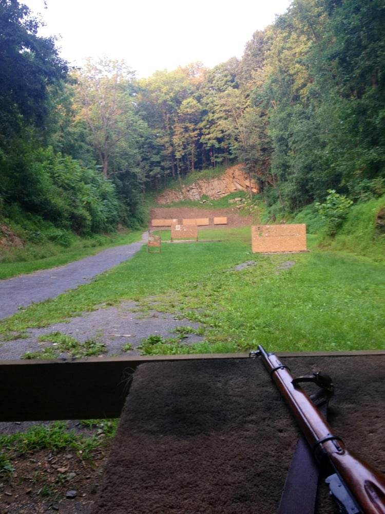 Easton fish game gun rifle range 2595 redington rd for Pa game and fish