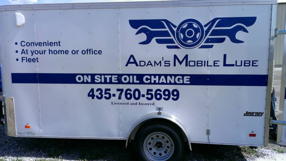 Adams Mobile Lube: 970 E 200 S, Lewiston, UT