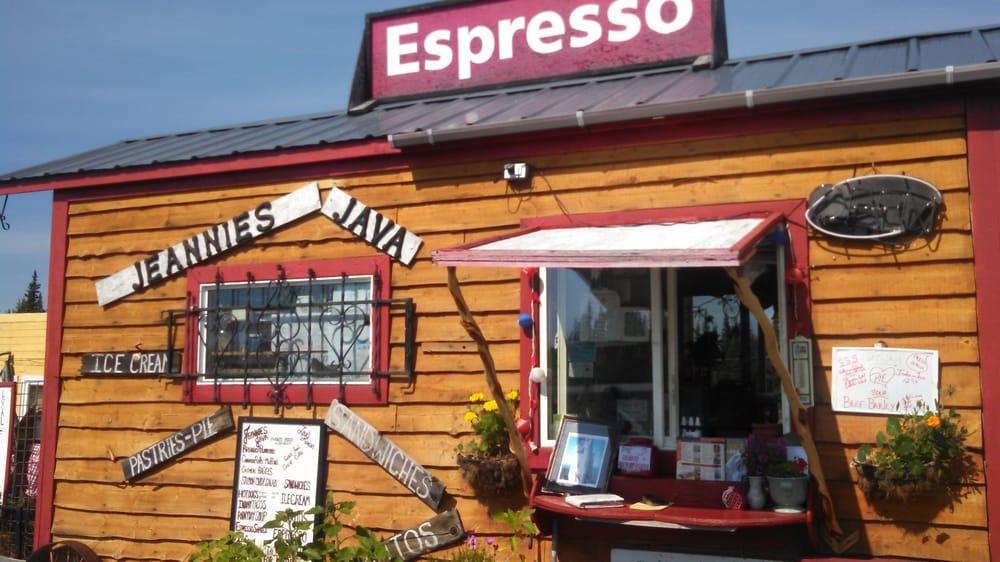 Jeannie's Java: Mile 128 5 Richardson Hwy, Gakona, AK