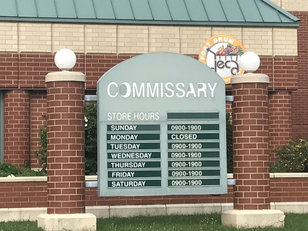 Fort Drum Commissary: 10730C Enduring Freedom Dr, Fort Drum, NY