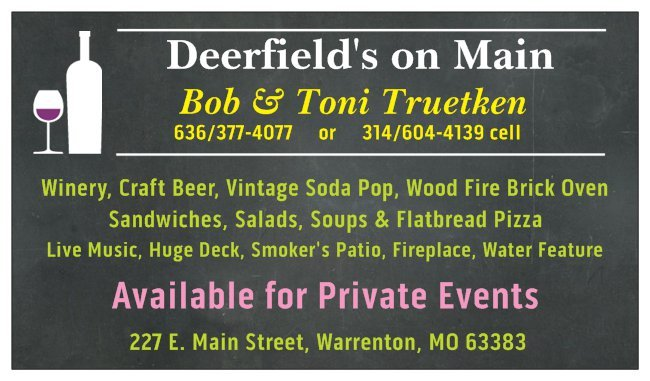 Deerfield's on Main: 227 E Main St, Warrenton, MO