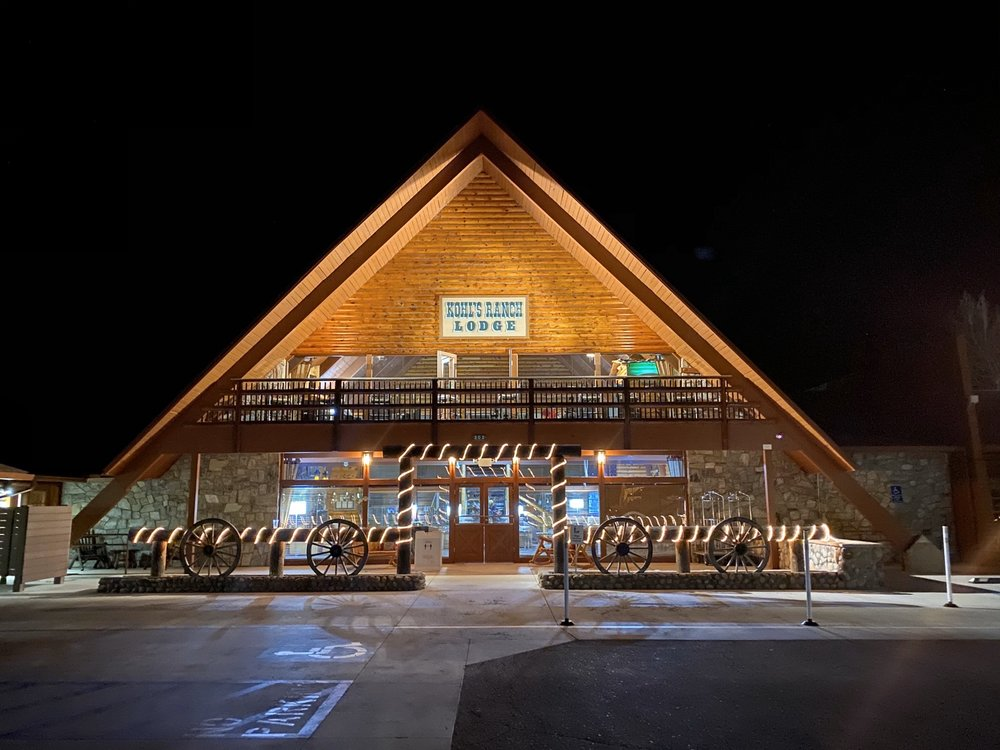 Kohl's Ranch Lodge: 202 S Kohl's Ranch Lodge Rd, Payson, AZ