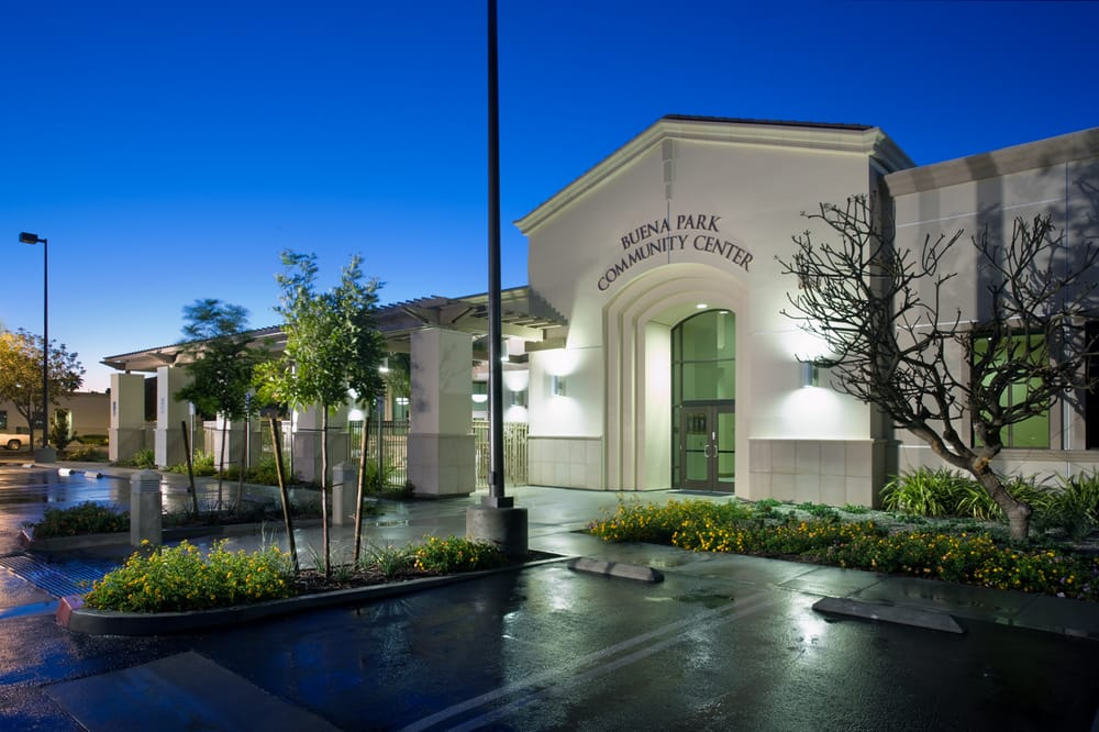 Buena Park Community Center: 6688 Beach Blvd, Buena Park, CA