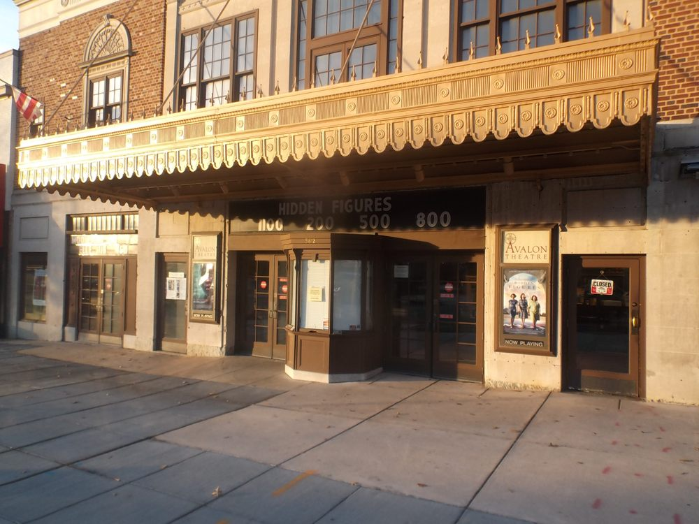 Avalon Theatre Café: 5612 Connecticut Ave NW, Washington, DC, DC