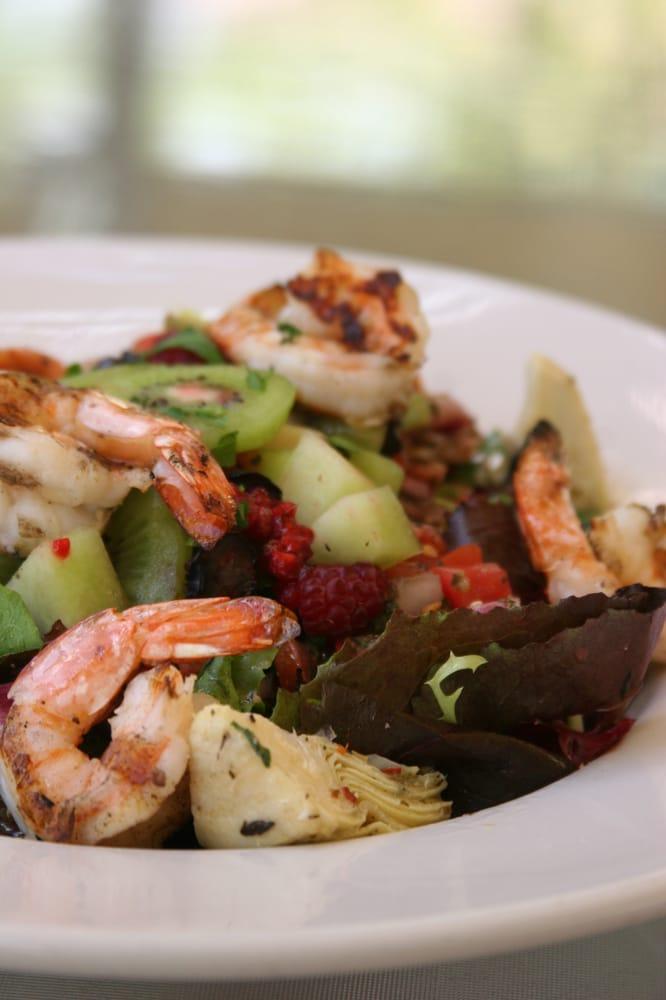 Grilled gulf shrimp salad - caffee molise