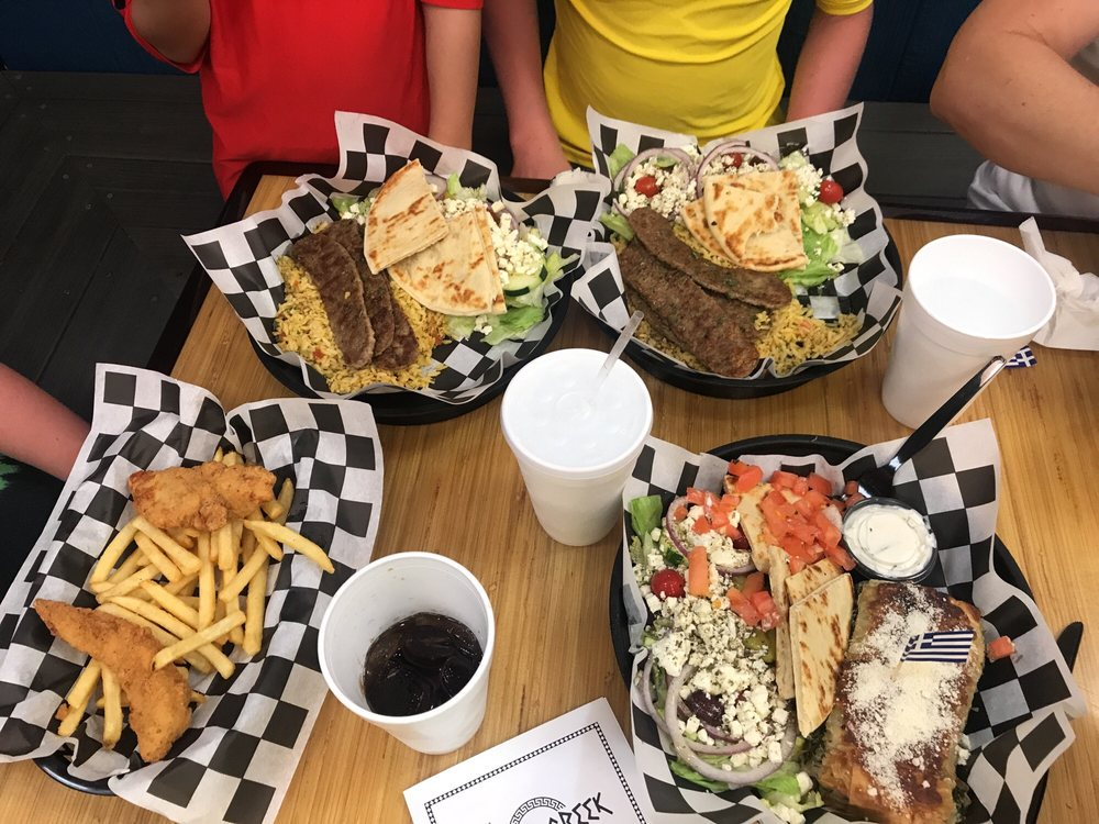 The Krazy Greek: 6344 Cypress Gardens Blvd, Winter Haven, FL