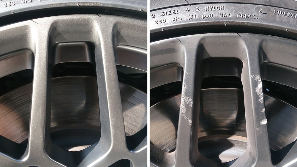 Mobile Wheel Repair : Before and after on a ford shelby gt yelp