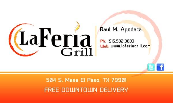 La feria grill cocina norteamericana nueva 504 s mesa st el paso tx estados unidos - La hora en el paso texas ...