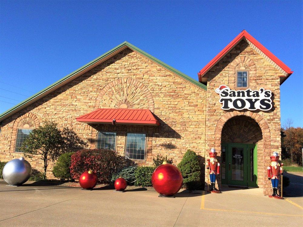 Santa's Toys: 3 N Kringle Pl, Santa Claus, IN