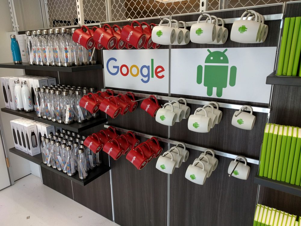 Google Merchandise Store: 1981 Landings Dr, Mountain View, CA