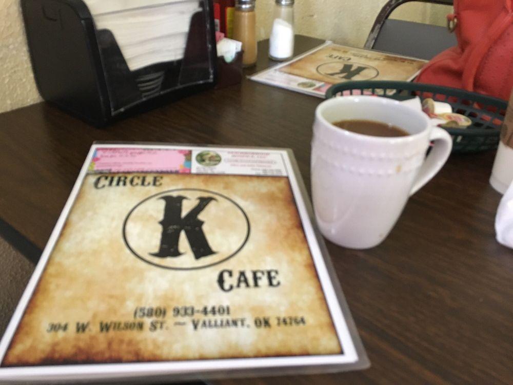 Circle K Cafe: 304 W Wilson St, Valliant, OK