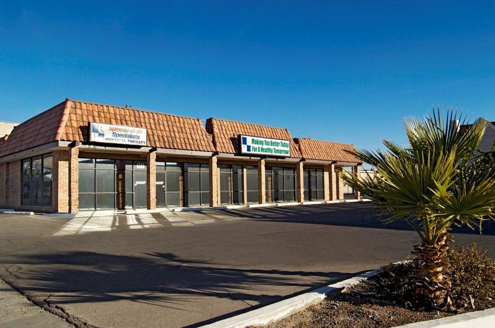 Spine & Rehab Specialists: 6358 Edgemere Blvd, El Paso, TX