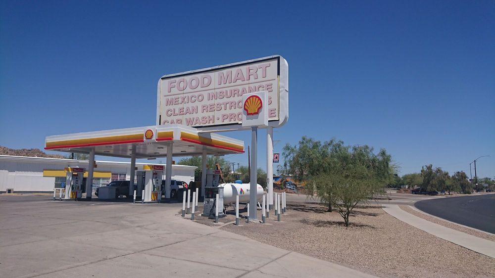 Holt Ajo Shell: 429 N 2nd Ave, Ajo, AZ