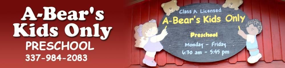 Image result for a-bear's kids only preschool lafayette
