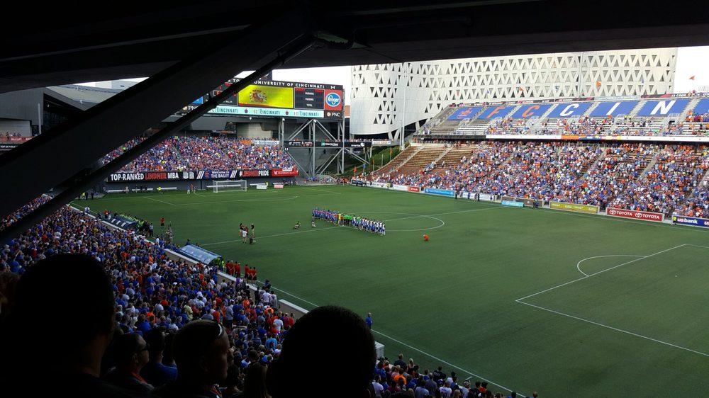 FC Cincinnati: 43 E 4th St, Cincinnati, OH