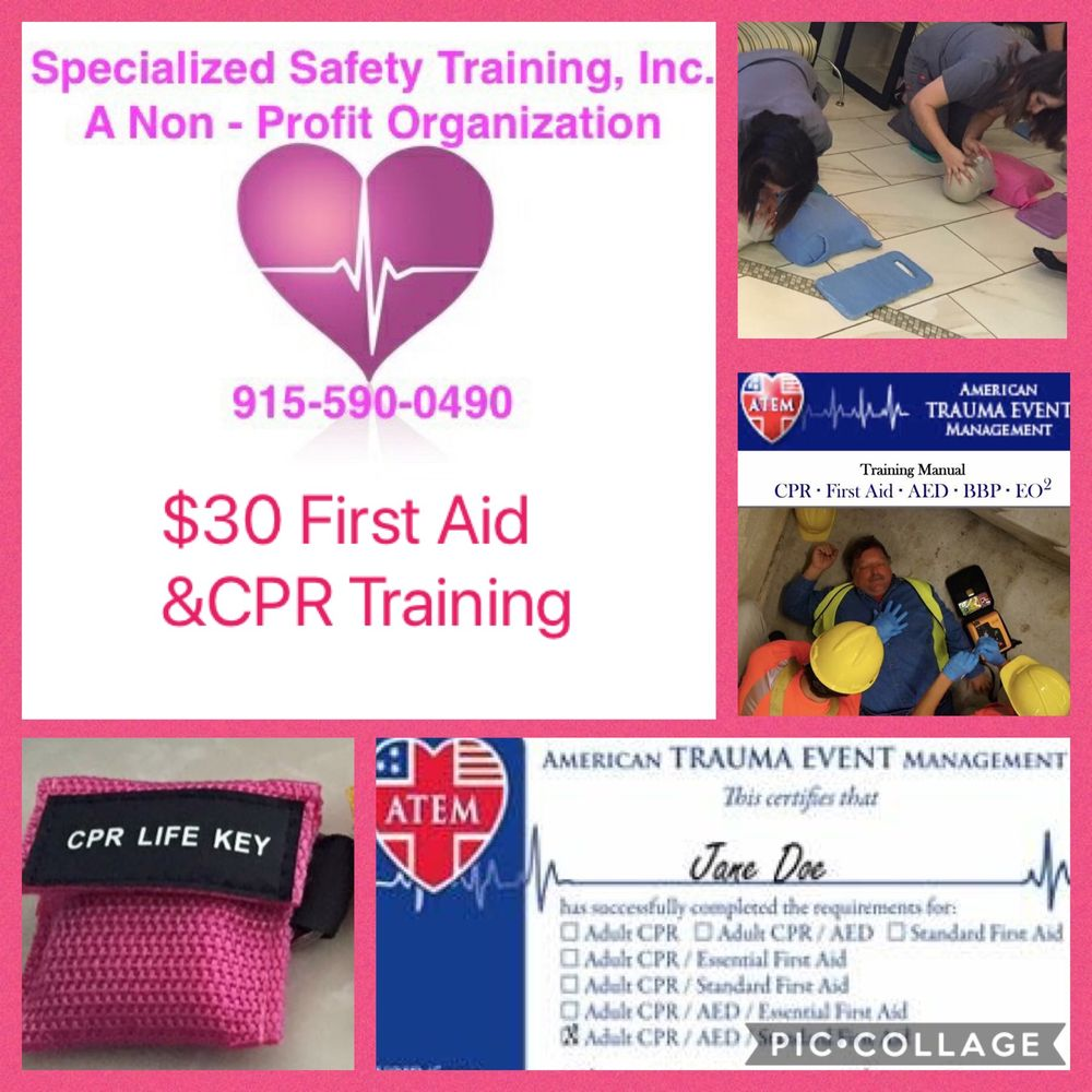 Specialized safety training cpr classes 6410 gateway blvd e specialized safety training cpr classes 6410 gateway blvd e el paso tx phone number yelp 1betcityfo Image collections