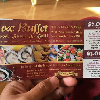 image regarding The Luxe Buffet Printable Coupon titled The luxe buffet discount codes / Refreshing Offers