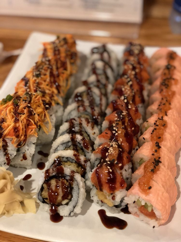 Food from Ino Sushi