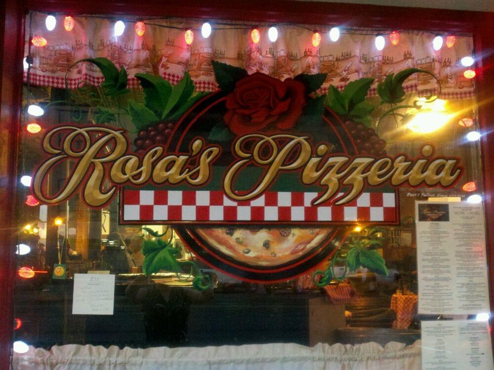 Rosa's Pizzeria: 330 W Gurley St, Prescott, AZ