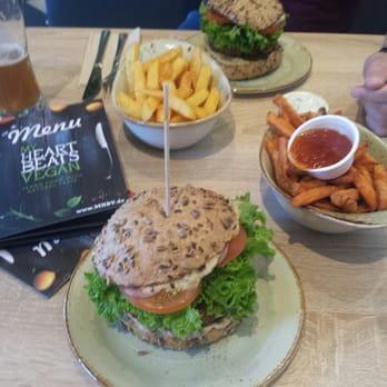 My Heart Beats Vegan Geschlossen Burger