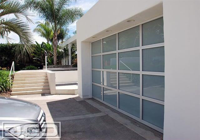 Orange County Ca Modern Style Garage Doors In Glass