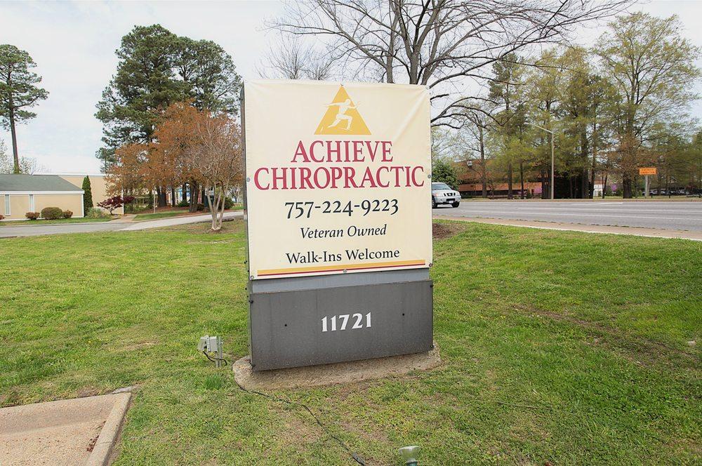 Achieve Chiropractic: 11721 Jefferson Ave, Newport News, VA