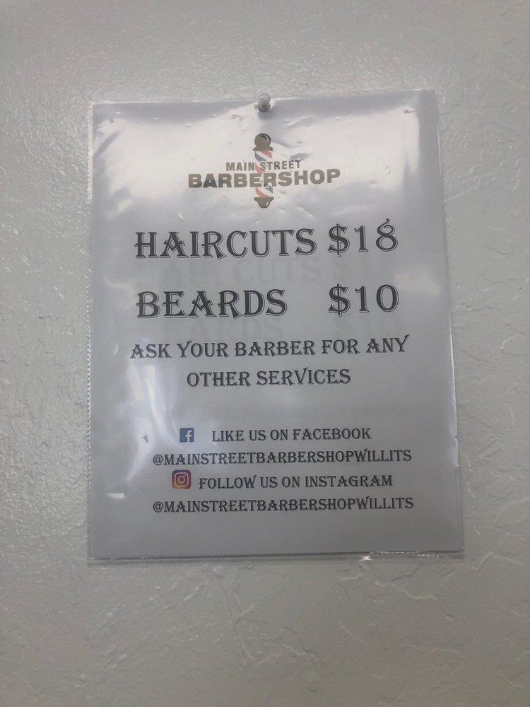 Main Street Barbershop: 525 S Main St, Willits, CA