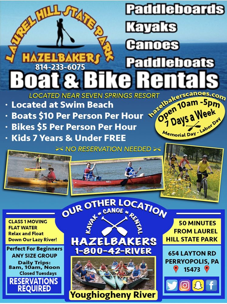 Hazelbakers Recreational Services: 654 Layton Rd, Perryopolis, PA