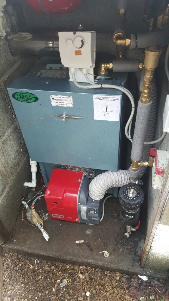 Grant Vortex high efficiency oil boiler - Yelp
