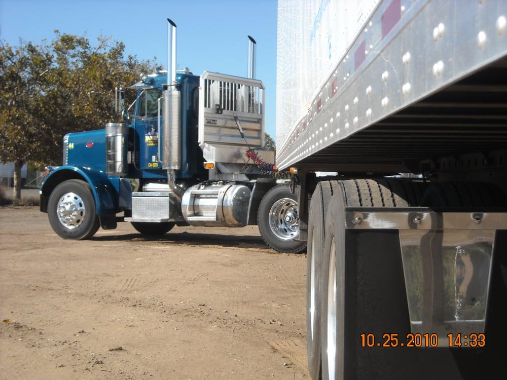 Ramirez & Sons Trucking: 4072 Wilson St, Le Grand, CA