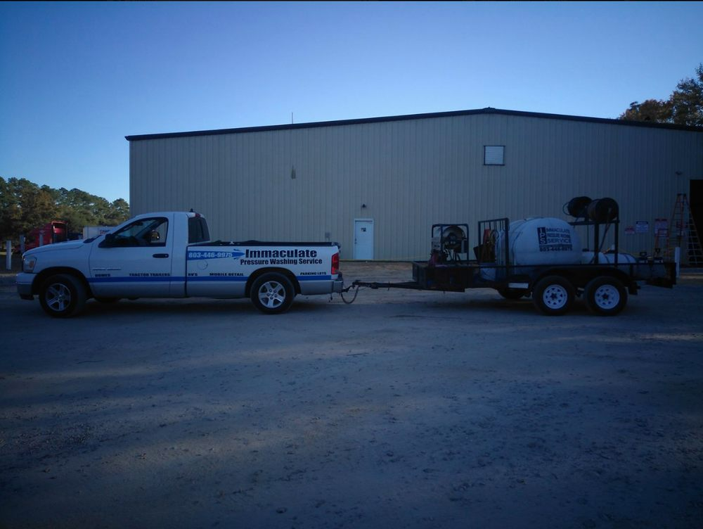 Immaculate Pressure Washing/Mobile Truck Washing: Sumter, SC