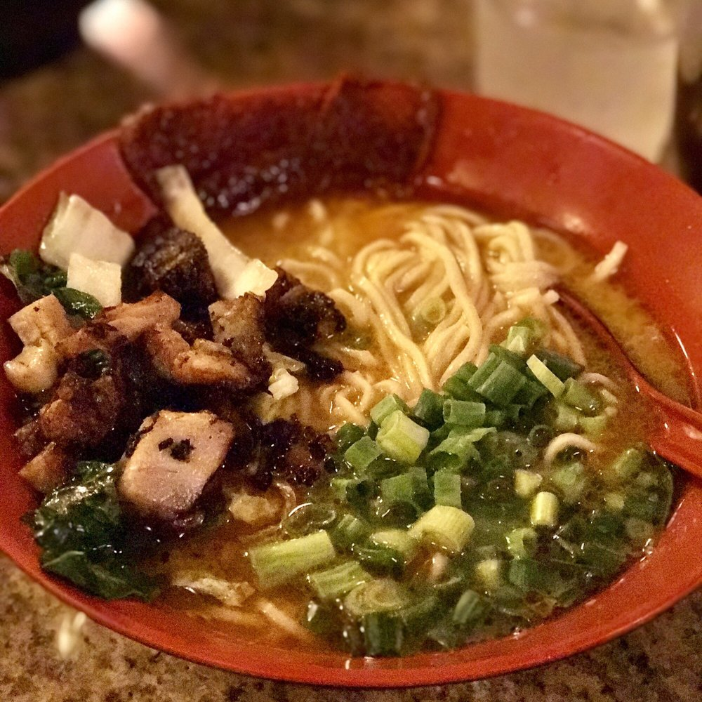 Food from Ramen Bowls