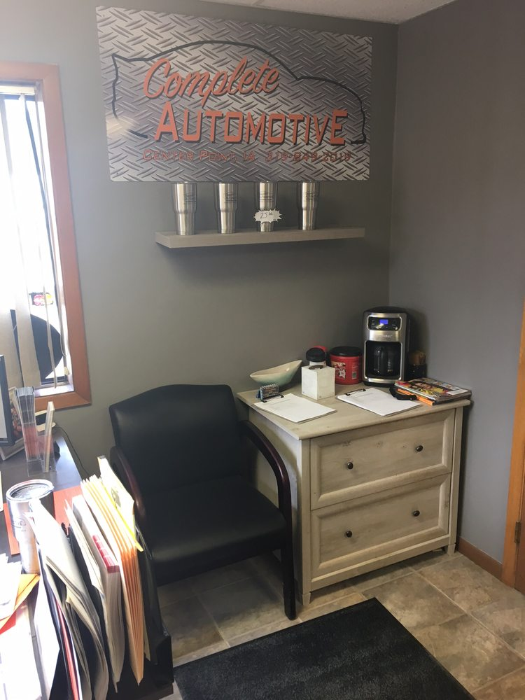 Complete Automotive: 250 Franklin St, Center Point, IA