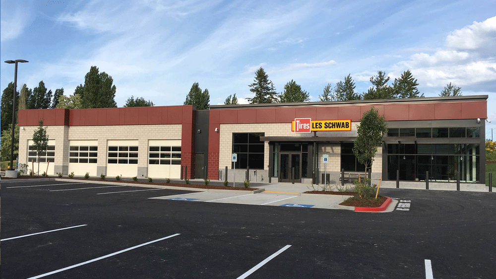 Les Schwab Tire Center: 1891 SE Sedgwick Rd, Port Orchard, WA