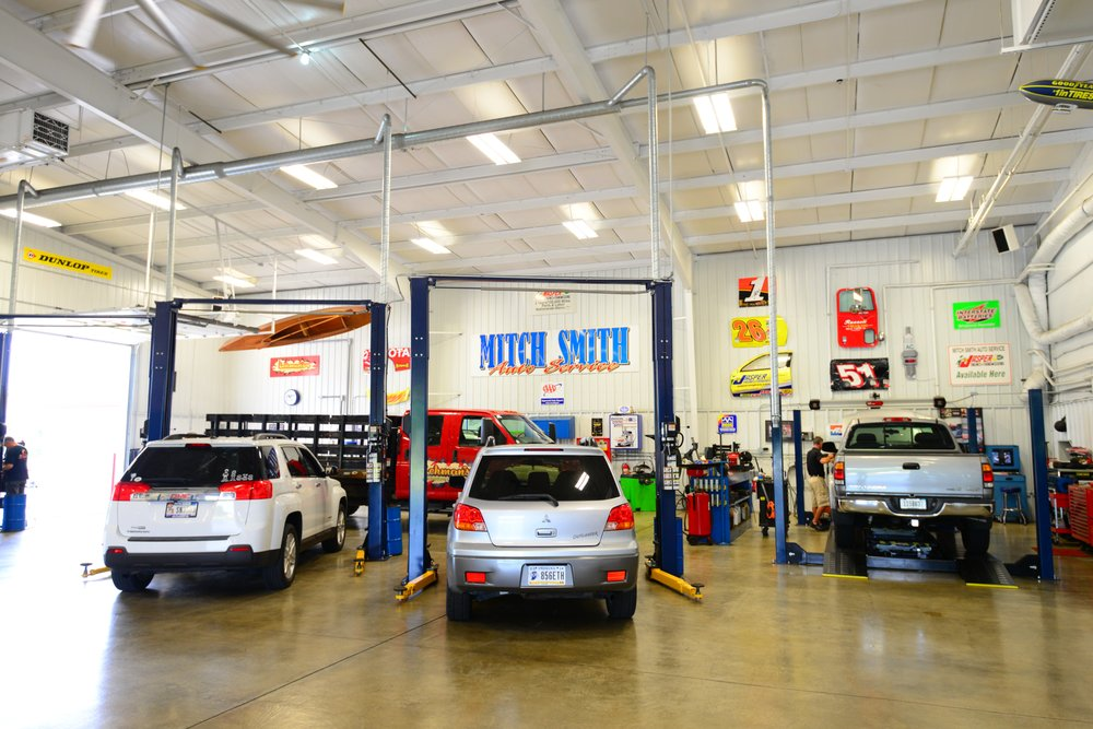Mitch Smith Auto Service: 4570 W State Rd 32, Anderson, IN
