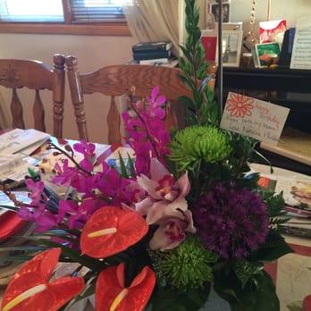 Photo of Panda Flowers - Edmonton, AB, Canada. Here is my birthday arrangement