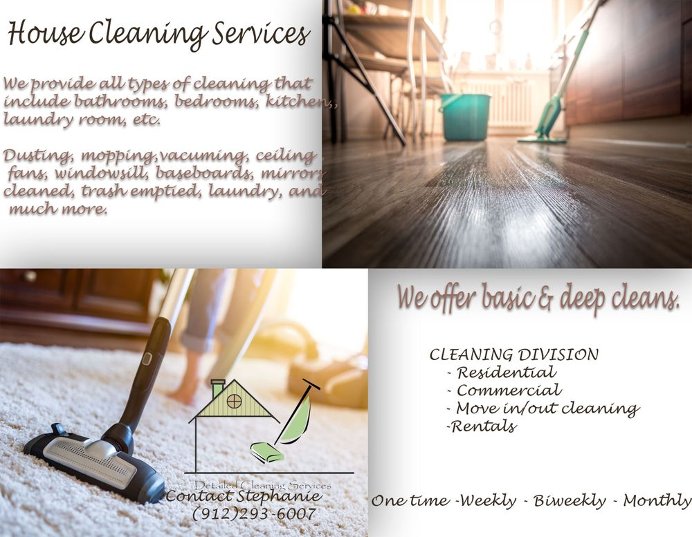 Detailed Cleaning Services: 138 Green Tippett Rd, Vidalia, GA